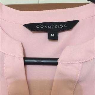 Kemeja Baby Pink Connexion