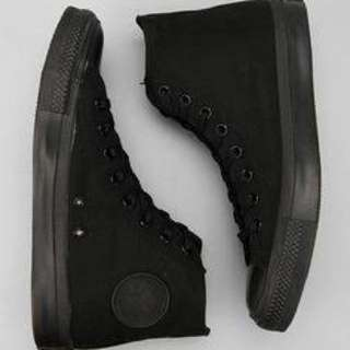 Black High-Top Converse