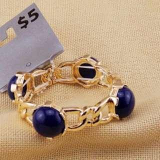 歐美時尚百搭典雅鬆緊彈力手環