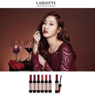金高恩😍奶酪陷阱 紅酒唇釉 染唇液 Labiotte