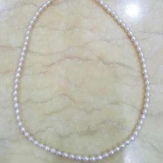 珍珠項鍊 (小顆)