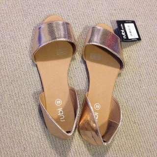 Rubi gold shoes