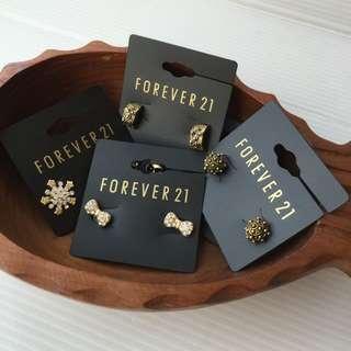 🚚 Forever 21 針式耳環