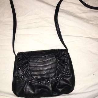 Black Over The Shoulder Bag
