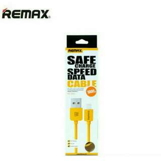 REMAX Safe Charge Speed Data Cable 1M - Yellow