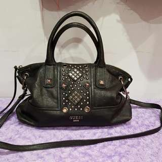 Authentic Black Studded Bag