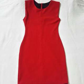 [Reserved] Korean Style Red Dress