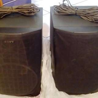 Sony Vintage Speakers