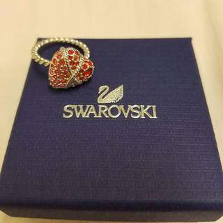 Genuine Swarovski Heart Ring