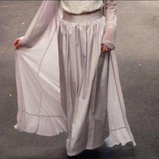 Hijab House Satin Long Skirt - Size 12