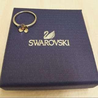 Genuine Swarovski Flower Ring