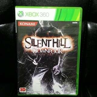 XBOX360 沉默之丘 驟雨 SILENT HILL DOWNPOUR 英文版