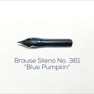 "Calligraphy Nib - Brause Steno No. 361 ""Blue Pumpkin"""