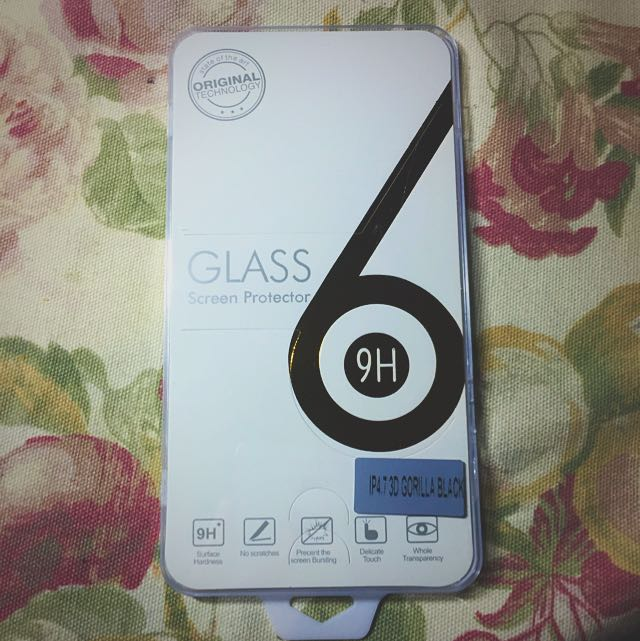 3D* IPhone 6 Glass Screen Protector