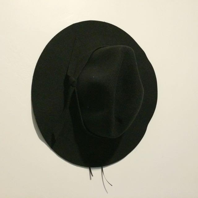 毛呢紳士帽