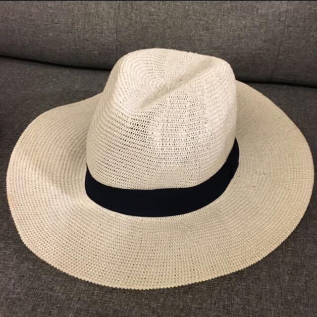 度假風草帽