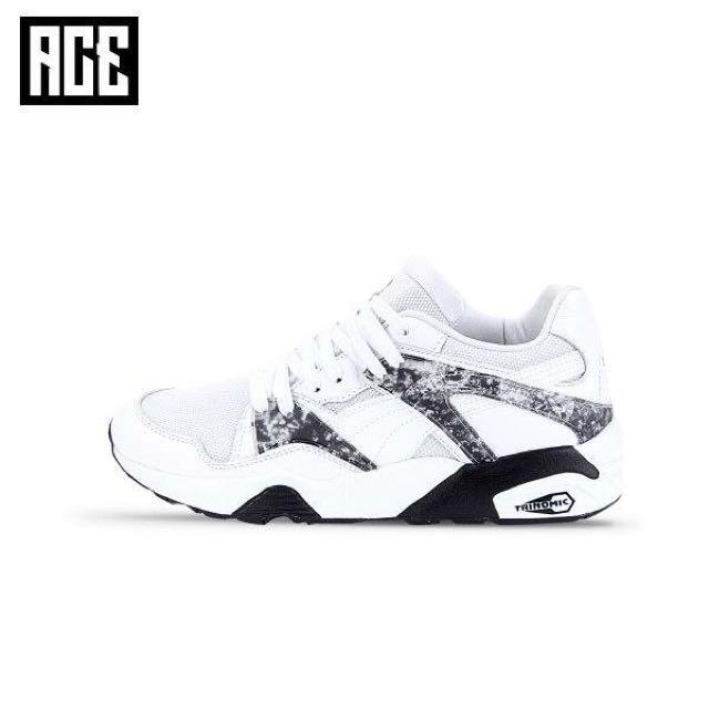 ACE LAMN PUMA BLAZE MRBL LTHR 黑色 韓國 鹿晗 BTS 防彈少年 同款 復古 慢跑鞋
