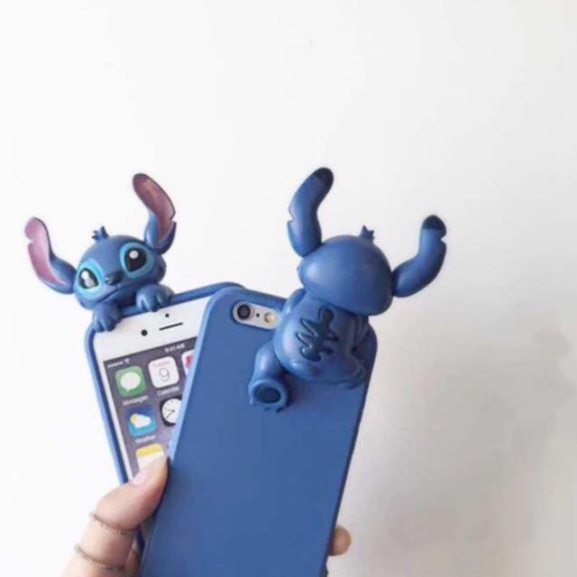 ☆Aly Look☆ i6/6S plus體造型軟殼 迪士尼 米奇 米妮 史迪奇