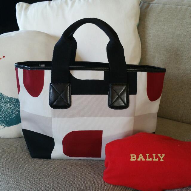 Bally Fabric Tote Bag