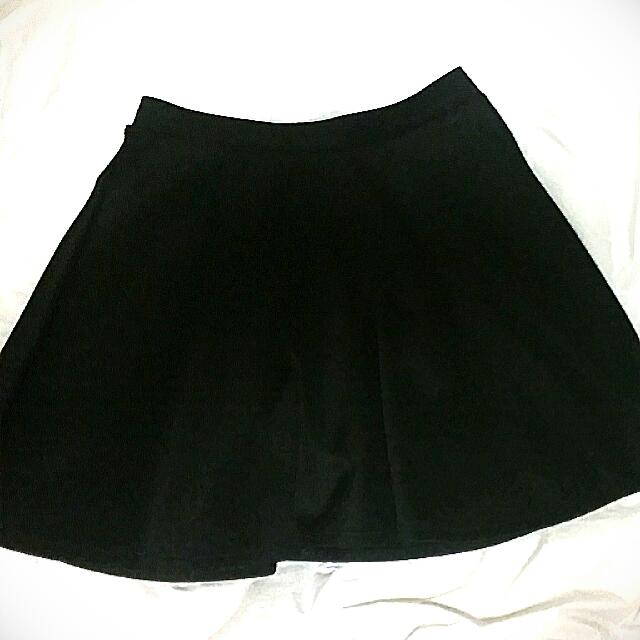 Black Skater Skirt Size Small