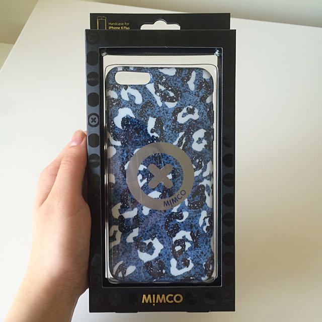BNWT Mimco iPhone 6 Plus Case