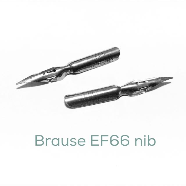 Calligraphy Nib - Brause EF66