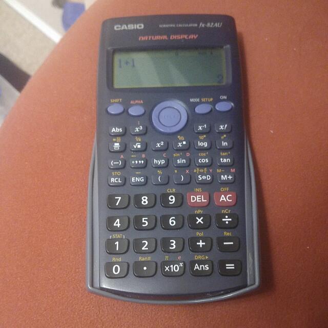 Pending*Casio Calculator