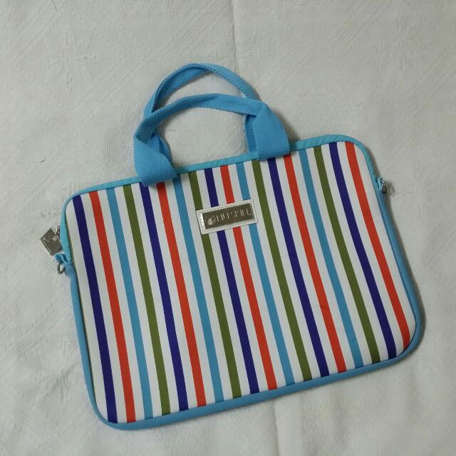 Colourful Striped Bag