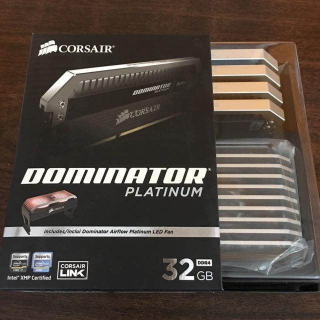 Corsair Dominator Platinum DDR4 3200 CL16 Memory
