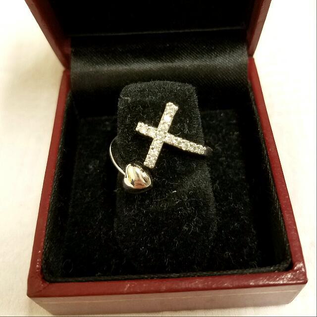 Cross/Heart Ring
