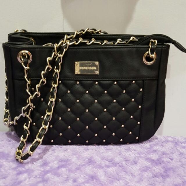 Forever New Black Bag