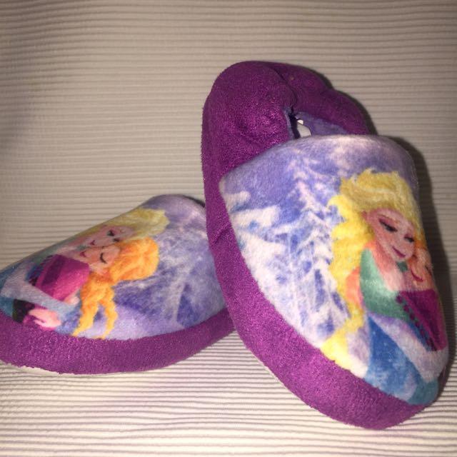 Frozen Size 6 Kids Slippers
