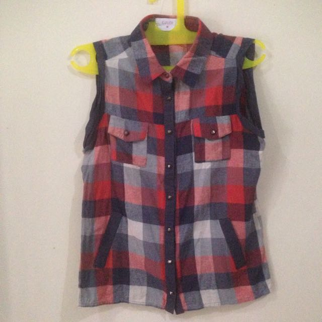 GAUDI Flannel Top
