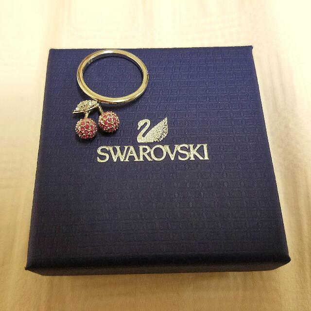 Genuine Swarovski Cherry Ring