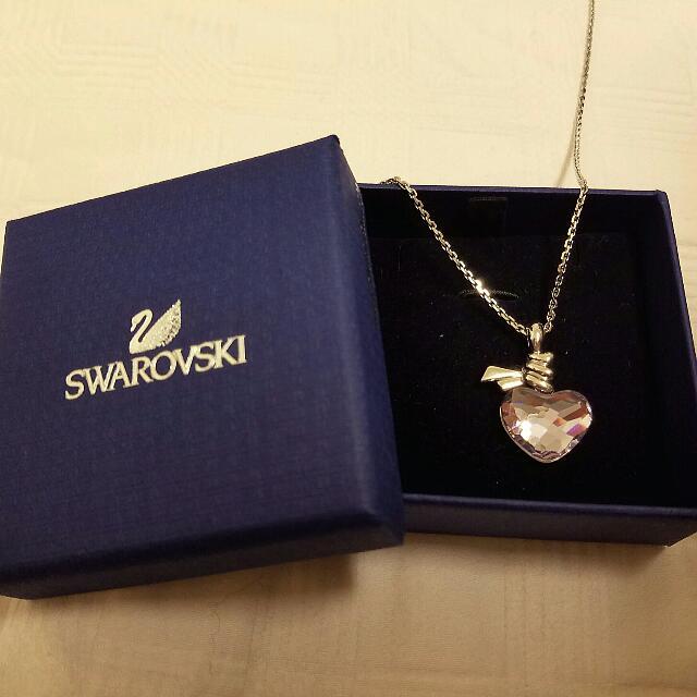 Genuine Swarovski Purple Apple Necklace