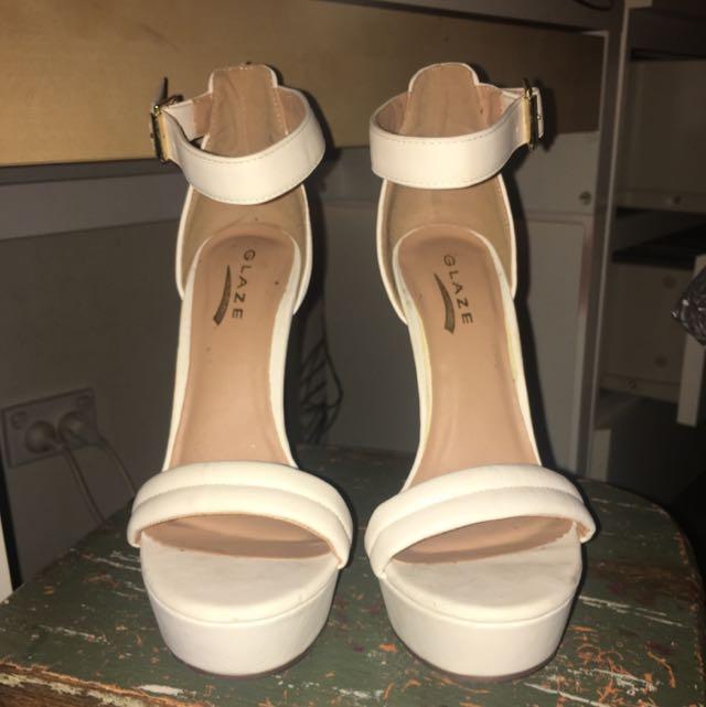 Glaze Size 7 Platform Heels