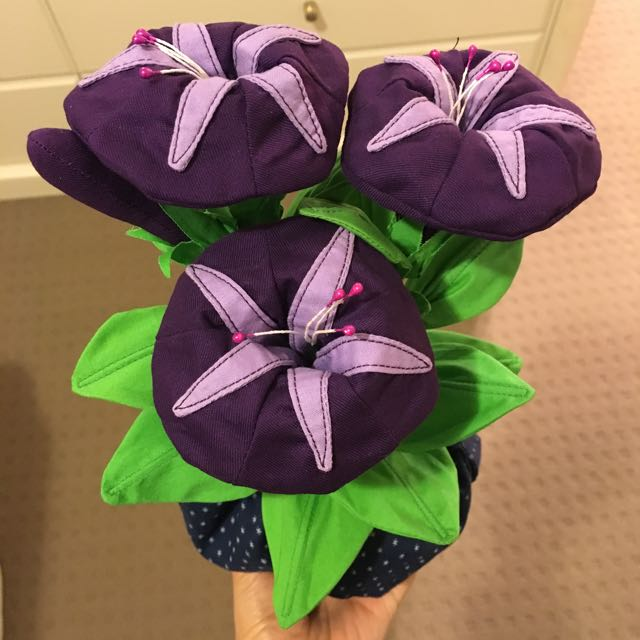 Handcrafted Morning Glories