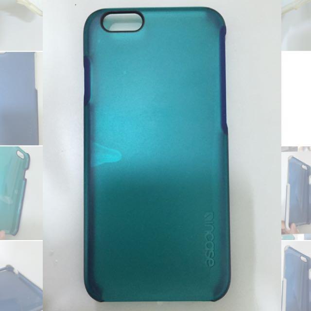 I6手機殼 保護力十足 淺藍殼