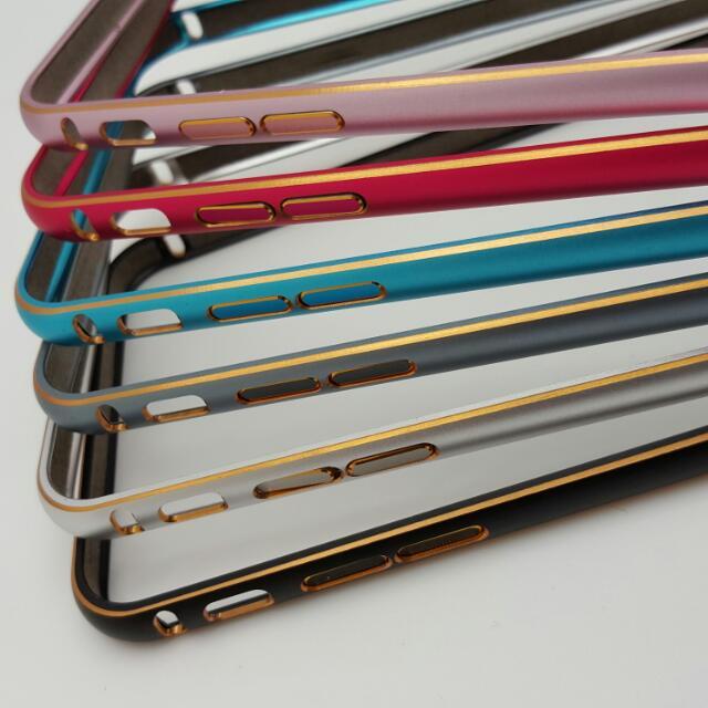 iphone6+/6S+ 6 plus/6S plus 鋁合金抗刮烤漆邊框(手機殼)