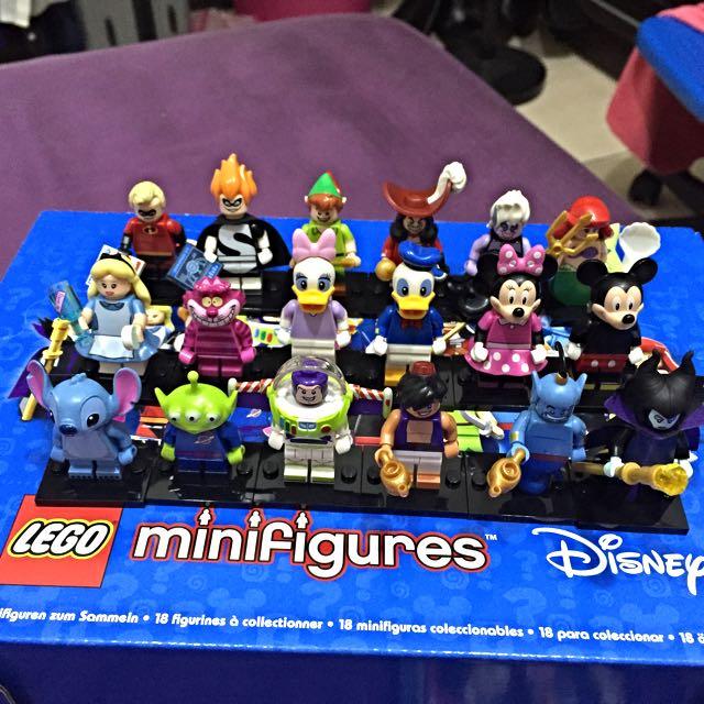 Lego Minifigures Disney 迪士尼 人偶 一套18隻