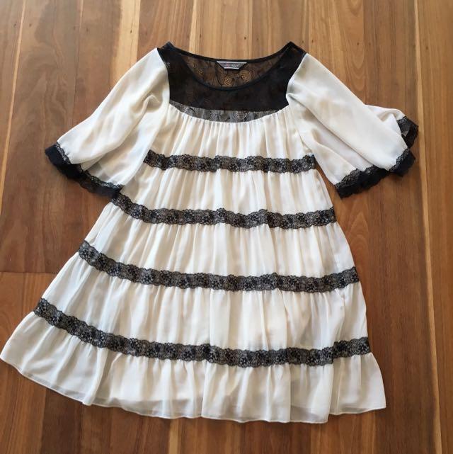 Lipsy London Babydoll Dress Size Small