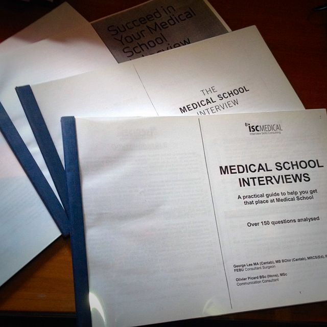 Medical School Interview Questions, Books & Stationery