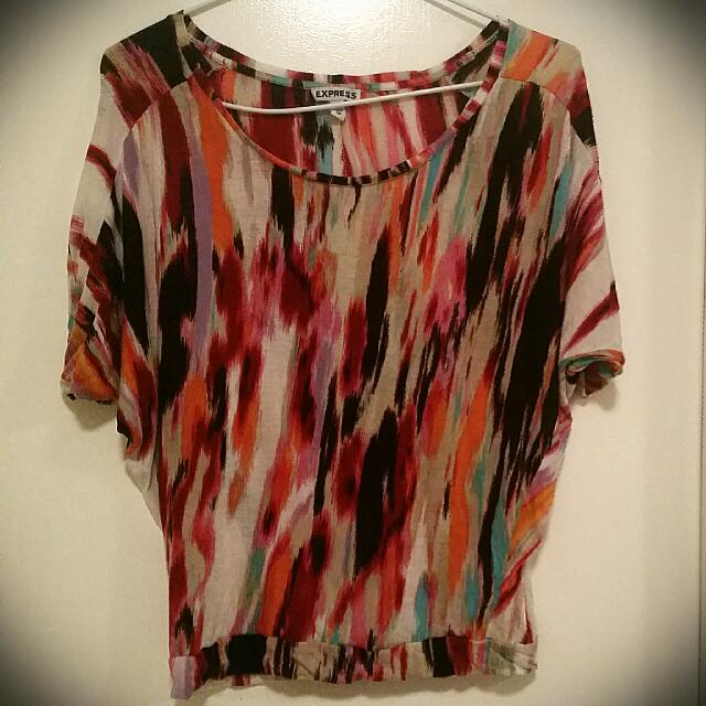 Multicolored Blouse From Express