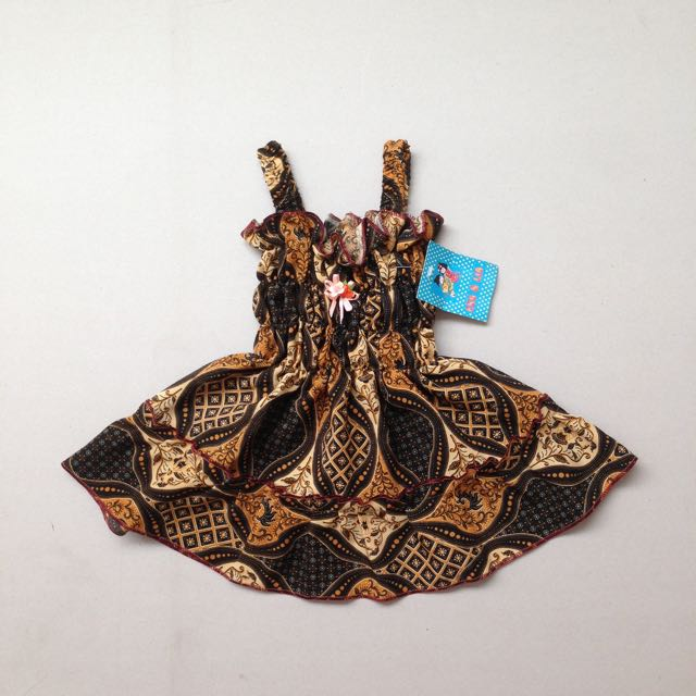 NEW! Newborn Batik Dress