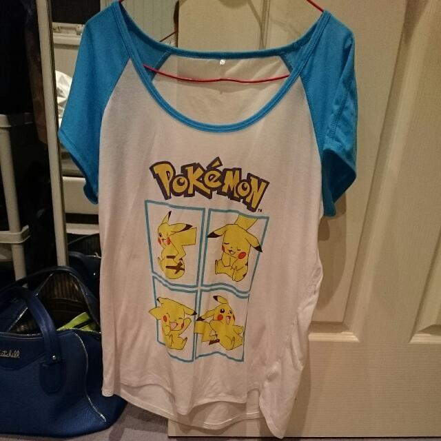 Pokemon Pikachu Tshirt Jay Jays