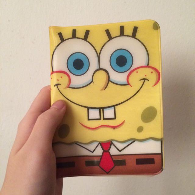 Spongebob Passport Cover