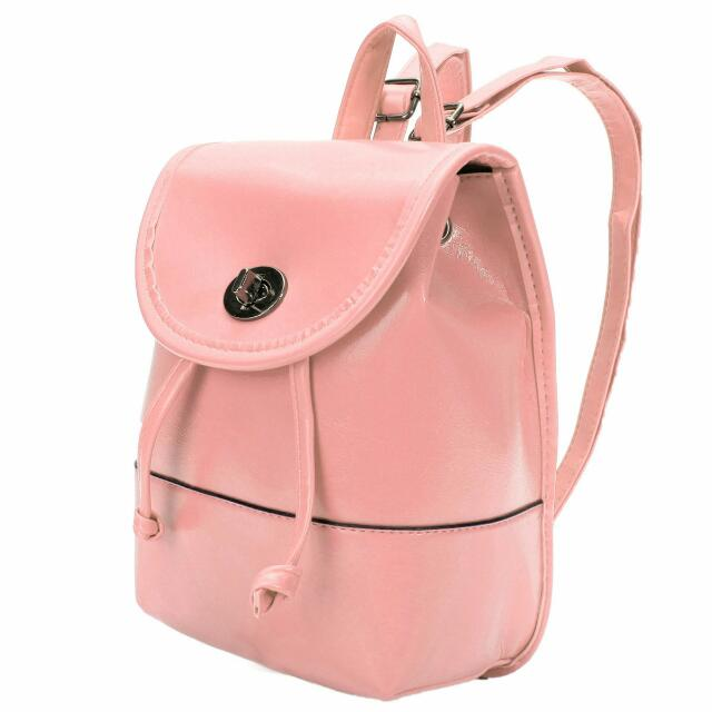 Women Girl Shoulder Leather Bag Rucksack Travel Backpack Mini School Handbag