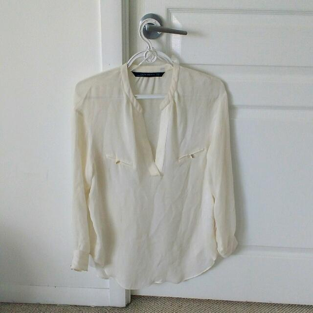 Zara Chiffon Shirt