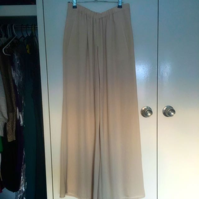 Zara Wide Leg Pants Size S