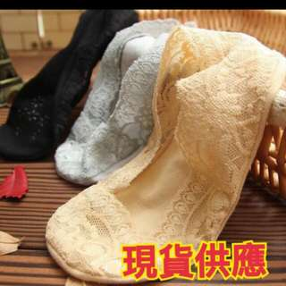 韓國防滑蕾絲隱形襪